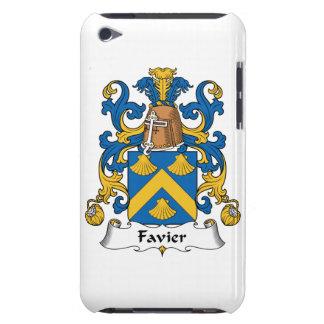 Escudo de la familia de Favier iPod Case-Mate Fundas