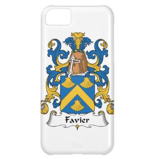 Escudo de la familia de Favier Funda Para iPhone 5C