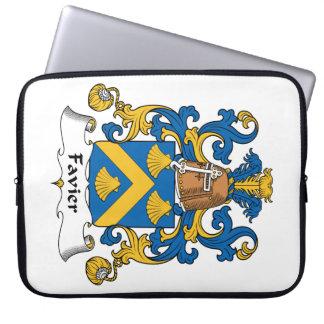 Escudo de la familia de Favier Funda Ordendadores