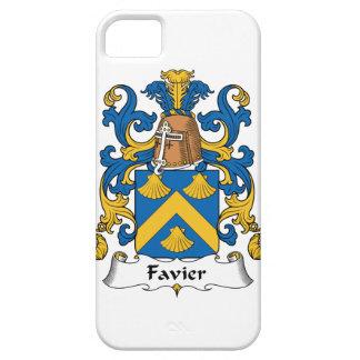 Escudo de la familia de Favier iPhone 5 Carcasa