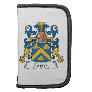 Escudo de la familia de Favier Planificadores