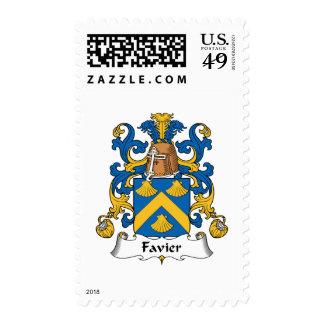 Escudo de la familia de Favier Sello