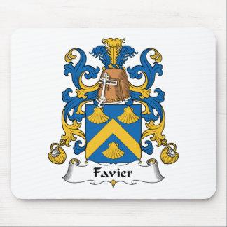 Escudo de la familia de Favier Tapetes De Raton