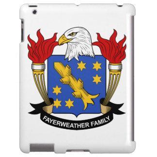 Escudo de la familia de Fayerweather Funda Para iPad