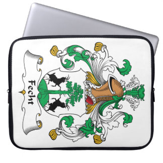 Escudo de la familia de Fecht Fundas Ordendadores