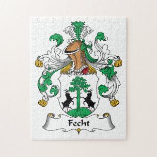 Escudo de la familia de Fecht Puzzle Con Fotos