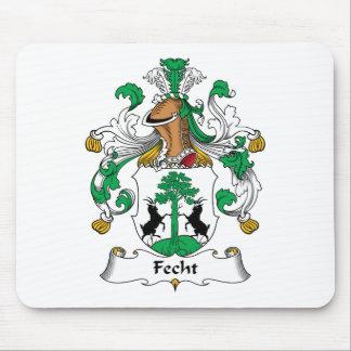 Escudo de la familia de Fecht Alfombrillas De Raton