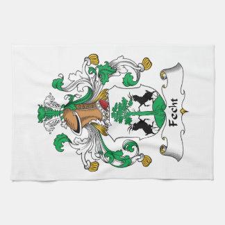 Escudo de la familia de Fecht Toalla