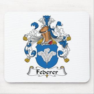 Escudo de la familia de Federer Mousepads