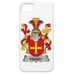Escudo de la familia de Feeney iPhone 5 Case-Mate Fundas