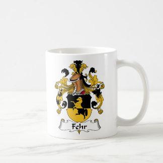 Escudo de la familia de Fehr Taza Clásica