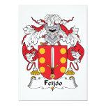 Escudo de la familia de Feijoo Invitaciones Personales