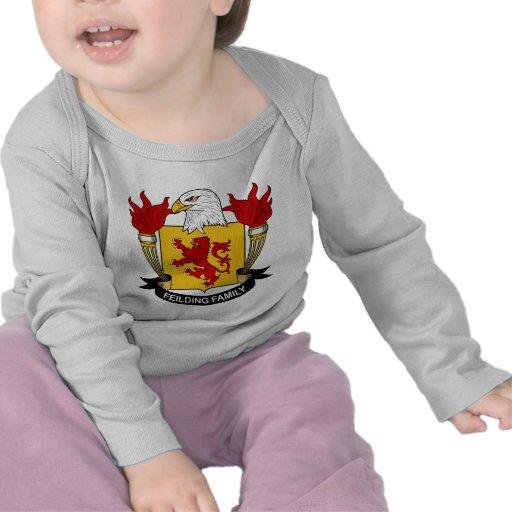 Escudo de la familia de Feilding Camisetas