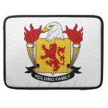 Escudo de la familia de Feilding Funda Macbook Pro