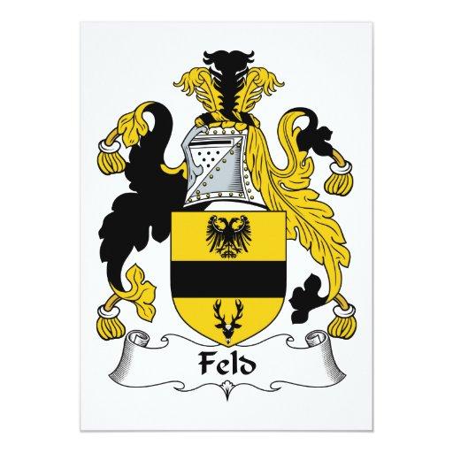 Escudo de la familia de Feld Anuncios