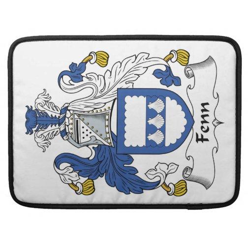 Escudo de la familia de Fenn Fundas Macbook Pro