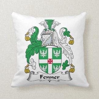 Escudo de la familia de Fenner Cojín