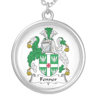 Escudo de la familia de Fenner Colgante Redondo