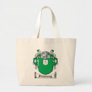 Escudo de la familia de Fennessy Bolsas De Mano