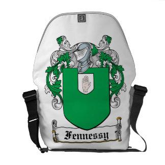 Escudo de la familia de Fennessy Bolsas De Mensajeria