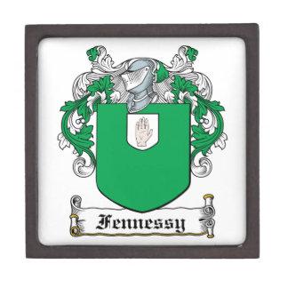 Escudo de la familia de Fennessy Cajas De Joyas De Calidad