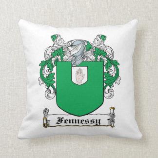Escudo de la familia de Fennessy Cojin