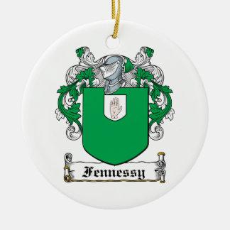 Escudo de la familia de Fennessy Ornaments Para Arbol De Navidad