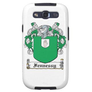 Escudo de la familia de Fennessy Galaxy S3 Cárcasa