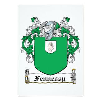 Escudo de la familia de Fennessy Comunicados Personalizados