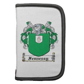 Escudo de la familia de Fennessy Planificador
