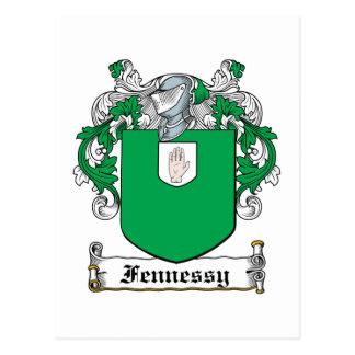Escudo de la familia de Fennessy Postales