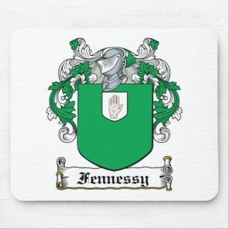 Escudo de la familia de Fennessy Tapetes De Ratón