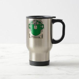 Escudo de la familia de Fennessy Taza De Café