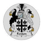 Escudo de la familia de Fenton Juego De Fichas De Póquer