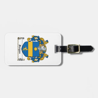 Escudo de la familia de Fergus Etiquetas De Equipaje
