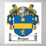 Escudo de la familia de Fergus Impresiones