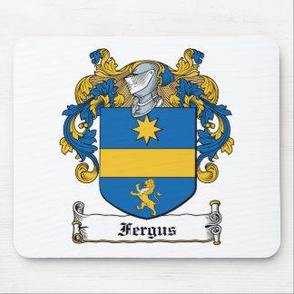 Escudo de la familia de Fergus Alfombrillas De Raton
