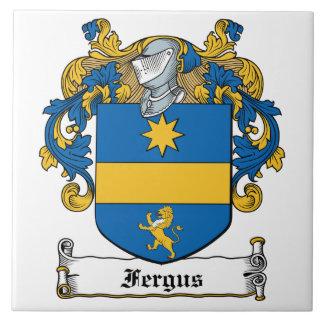 Escudo de la familia de Fergus Teja