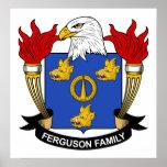 Escudo de la familia de Ferguson Posters