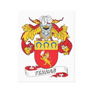 Escudo de la familia de Ferran Impresión En Tela