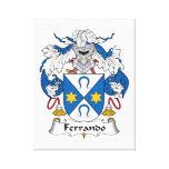 Escudo de la familia de Ferrando Lona Estirada Galerías