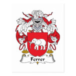 Escudo de la familia de Ferrer Postal