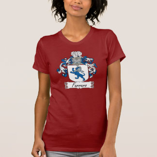 Escudo de la familia de Ferrero Camiseta