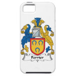 Escudo de la familia de Ferrier iPhone 5 Protectores