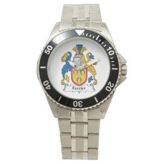 Escudo de la familia de Ferrier Reloj