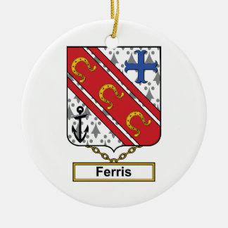 Escudo de la familia de Ferris Ornamentos Para Reyes Magos