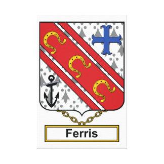 Escudo de la familia de Ferris Impresiones En Lona