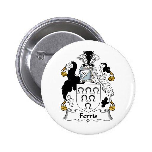 Escudo de la familia de Ferris Pin