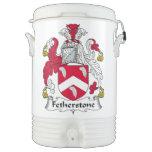 Escudo de la familia de Fetherstone Vaso Enfriador Igloo