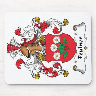 Escudo de la familia de Feulner Alfombrilla De Ratón